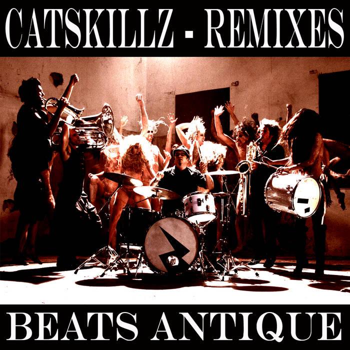 Cat Skillz REMIXES cover art