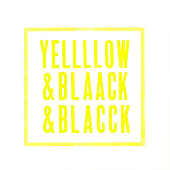 Yellow & Black & Black cover art