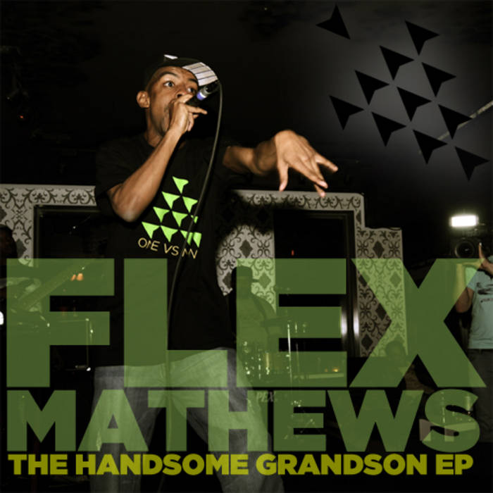 "Flex Mathews - ""The Handsome Grandson EP"" cover art"