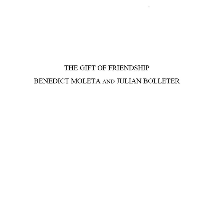 The gift of friendship cover art
