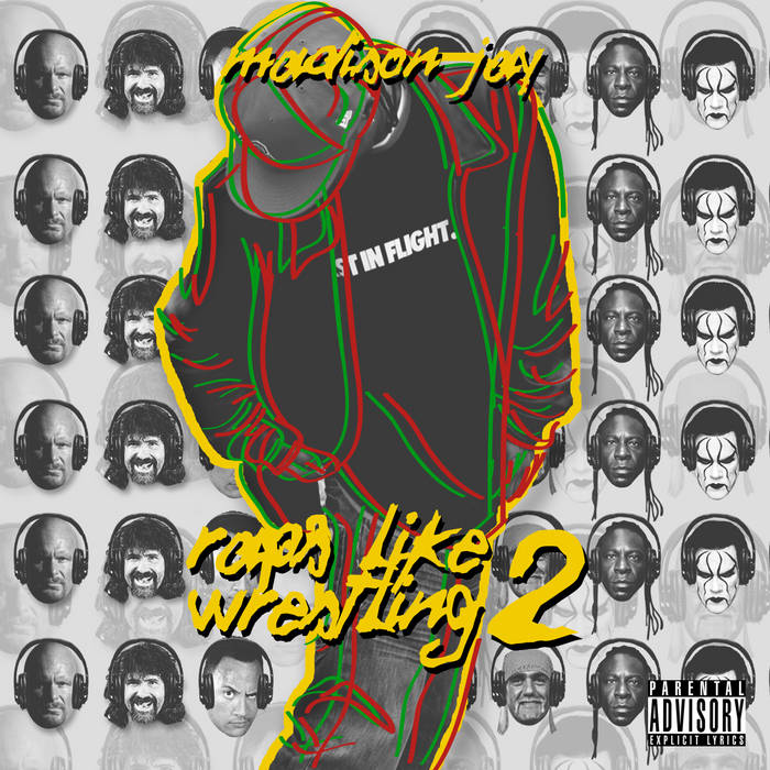 Rap's Like Wrestling 2 cover art