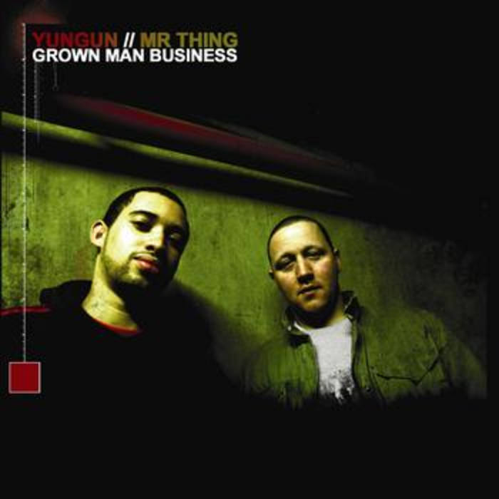 Grown Man Business cover art