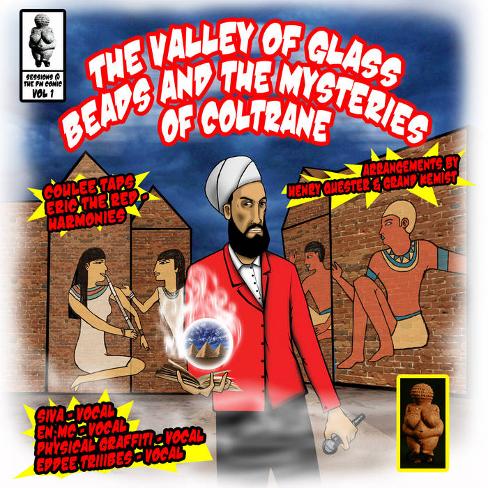 The Valley of Glass Beads & The Mysteries of Coltrane cover art