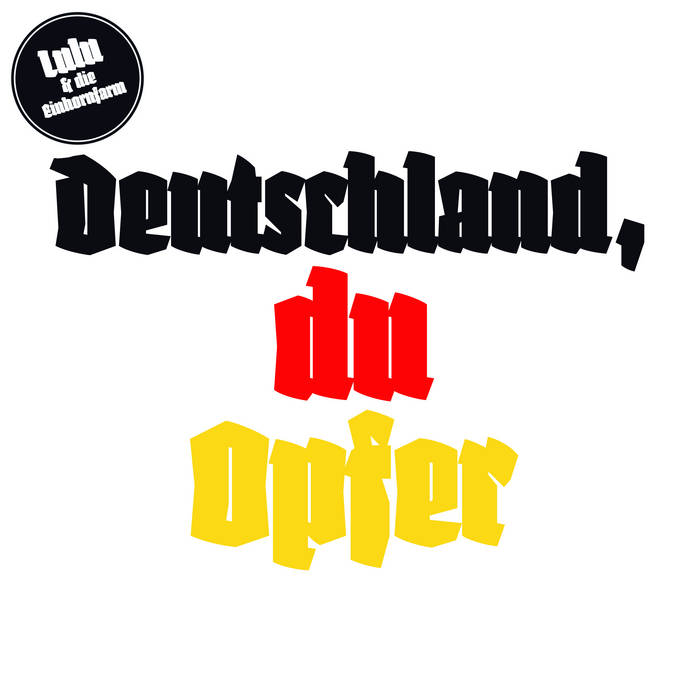 Deutschland, Du Opfer cover art