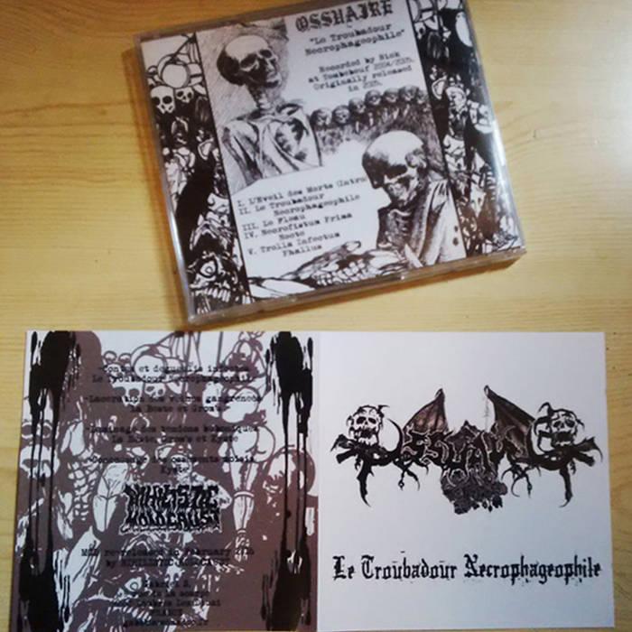 Le Troubadour Necrophageophile MCD cover art