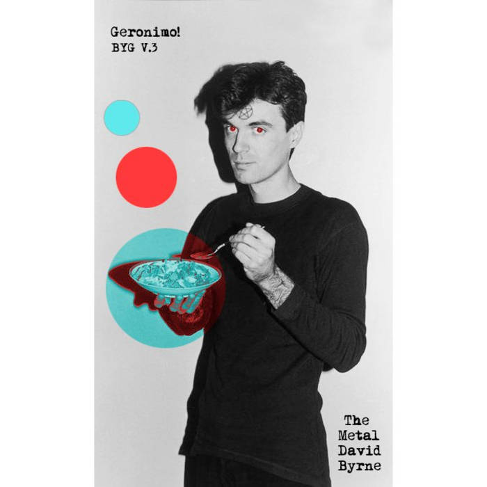 Buzz Yr Girlfriend: Vol 3 - The Metal David Byrne cover art