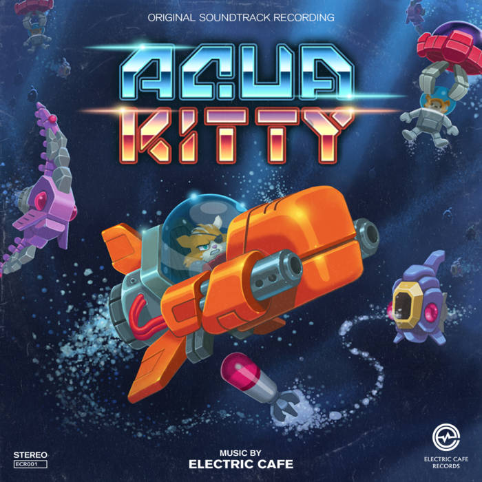 Aqua Kitty cover art
