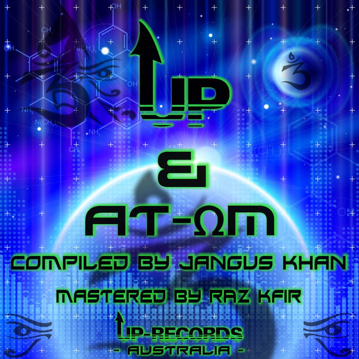 Free V/A - UP & ATOM cover art