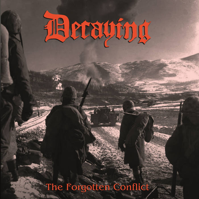 The Forgotten Conflict (compilation, 2016) cover art