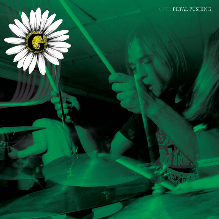 "Petal Pushing 7"" (Painkiller Records) cover art"