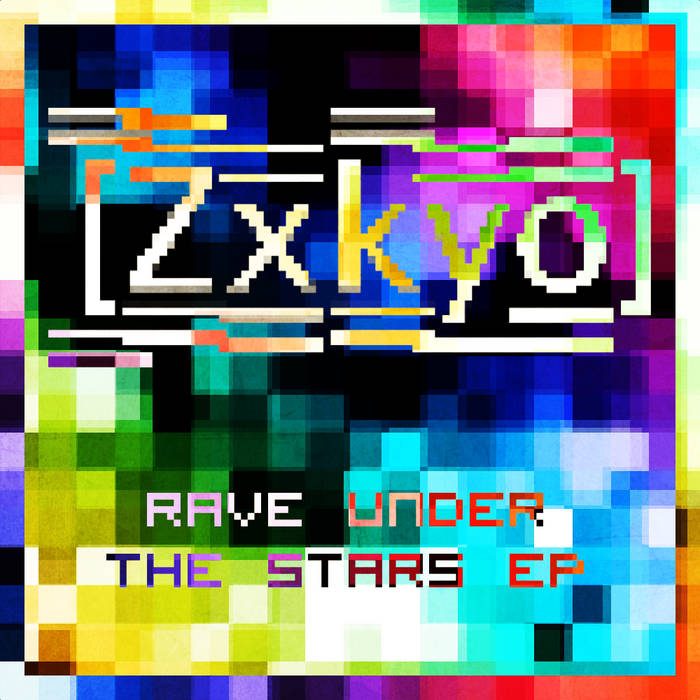 Rave under the stars EP cover art