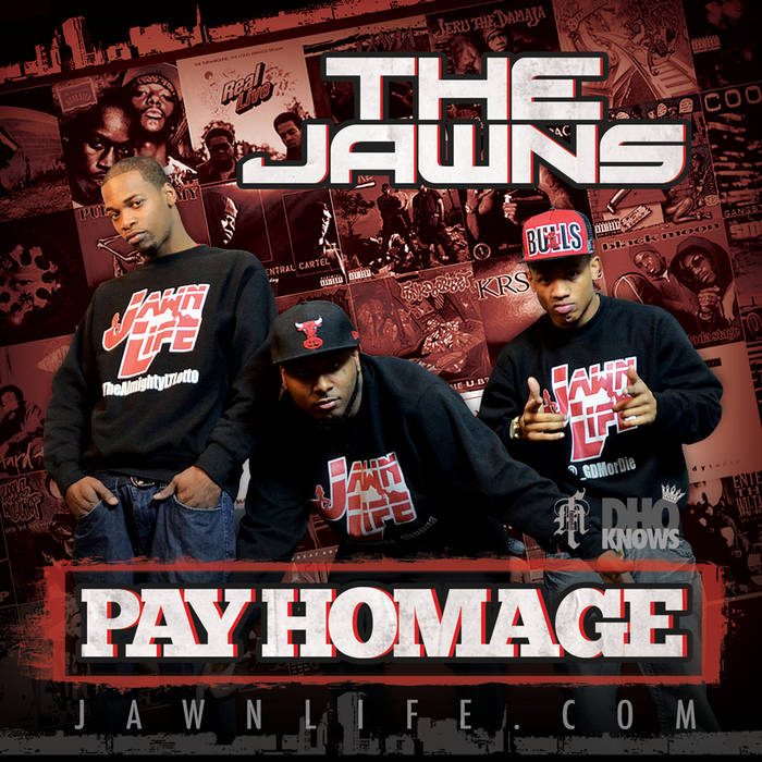PAY HOMAGE cover art