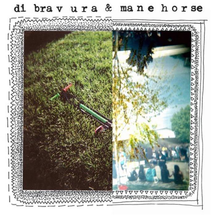 """Di Bravura/Mane Horse Split 7"""" cover art"""