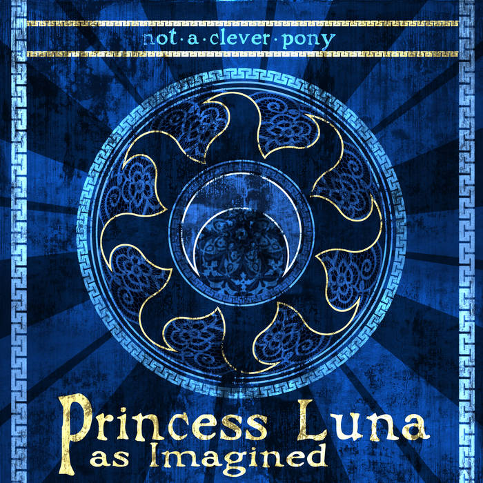 Princess Luna: As Imagined EP cover art