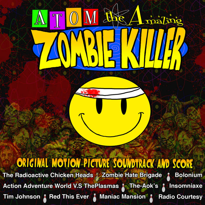 Atom the Amazing Zombie Killer Original Motion Picture Soundtrack and Score cover art