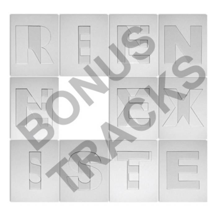 Bonus tracks [Rien n'existe] cover art