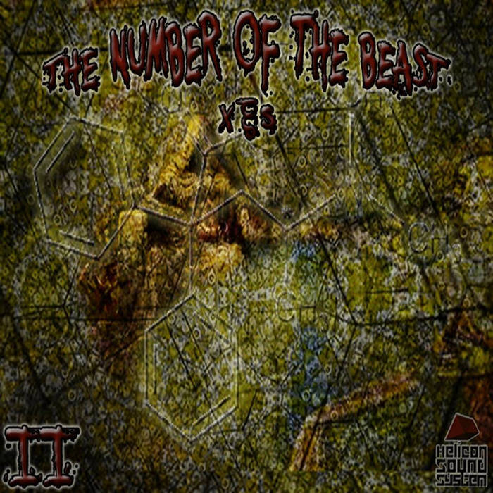 HSS013:The number of the beast (IΙ) cover art