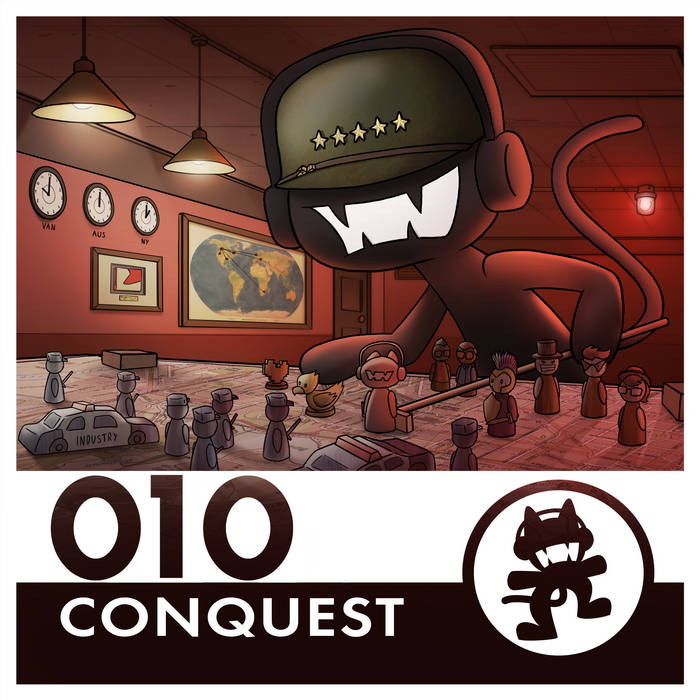 Monstercat 010 - Conquest cover art