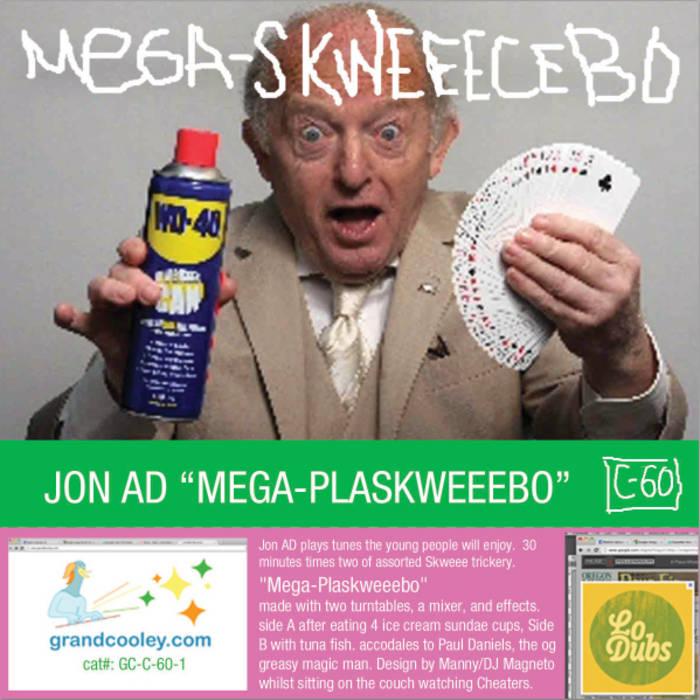 Jon AD - Mega-Plaskweeebo cover art
