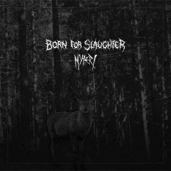 Split w/ Born for slaughter cover art