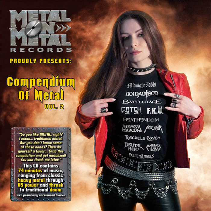 "VV.AA. ""Compendium Of Metal Vol. 2"" cover art"