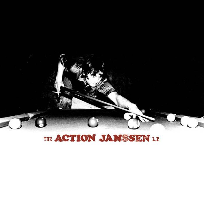 The Action Janssen LP cover art