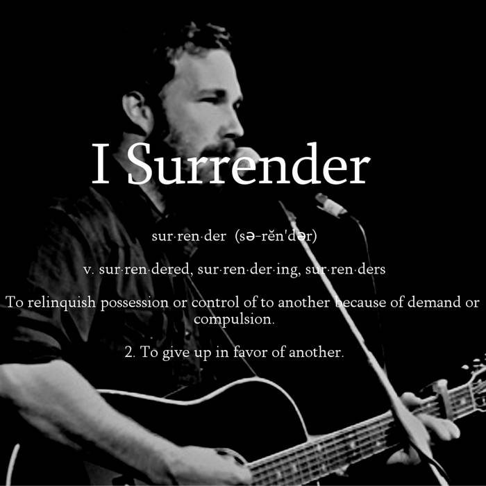 I Surrender cover art