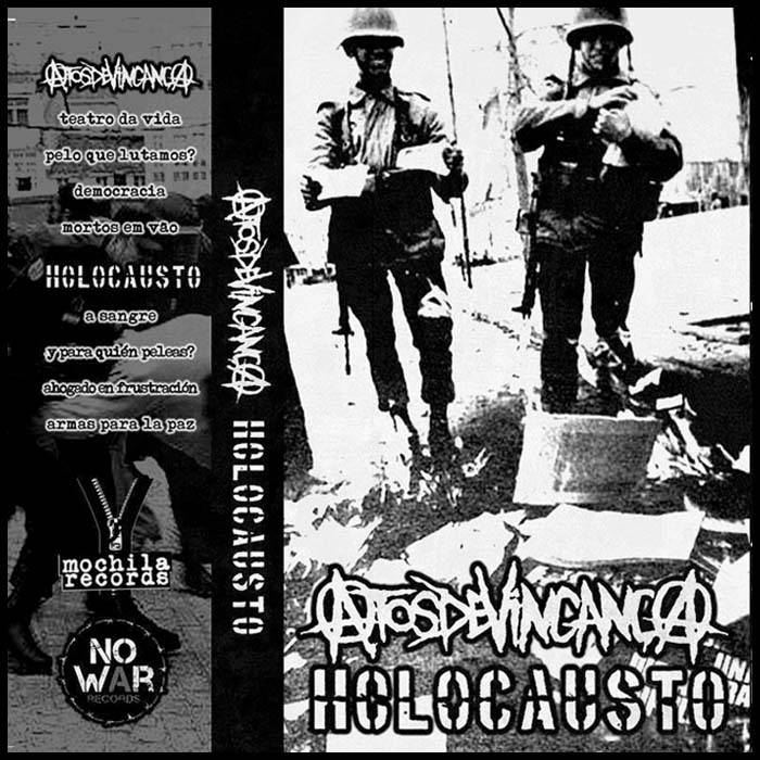 Split Tape Atos de Vingança / Holocausto (Chile) cover art