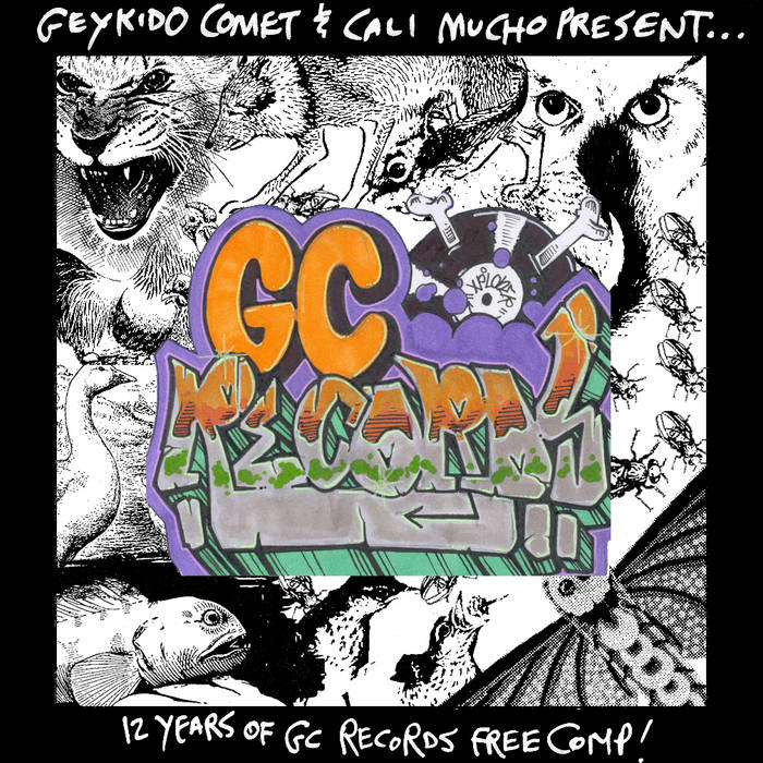 12 Years of GC Records FREE COMP cover art