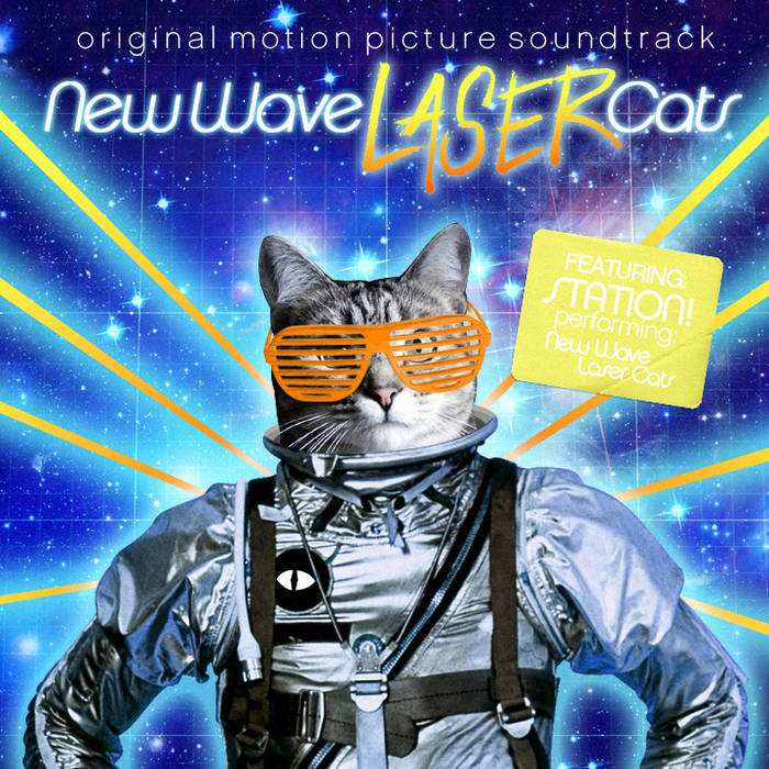 New Wave Laser Cats cover art