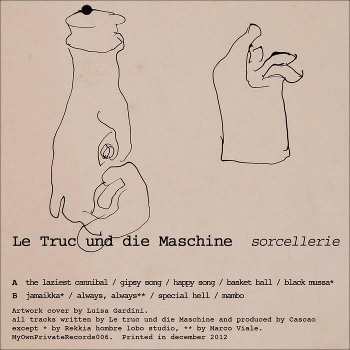 Le Truc und die Maschine cover art