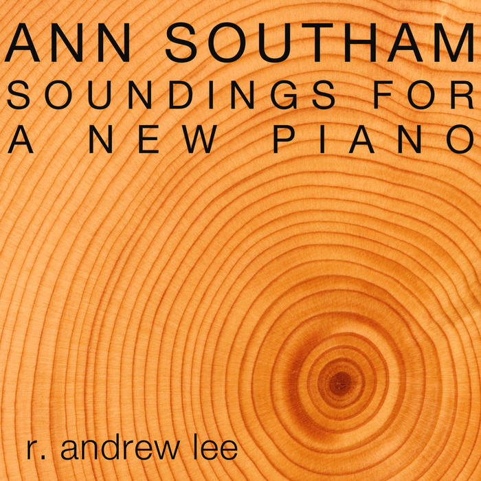 Ann Southam: Soundings for a New Piano cover art