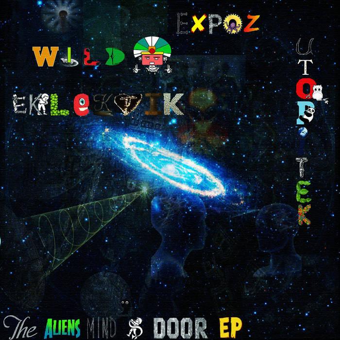 The aliens mind's door cover art