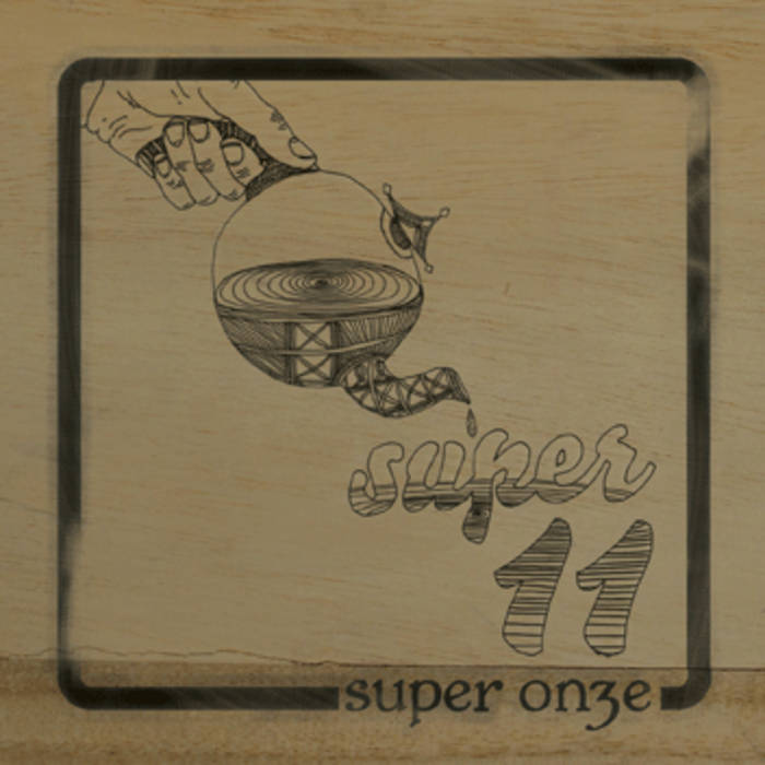 Super Onze - 1st Worldwide CD release cover art