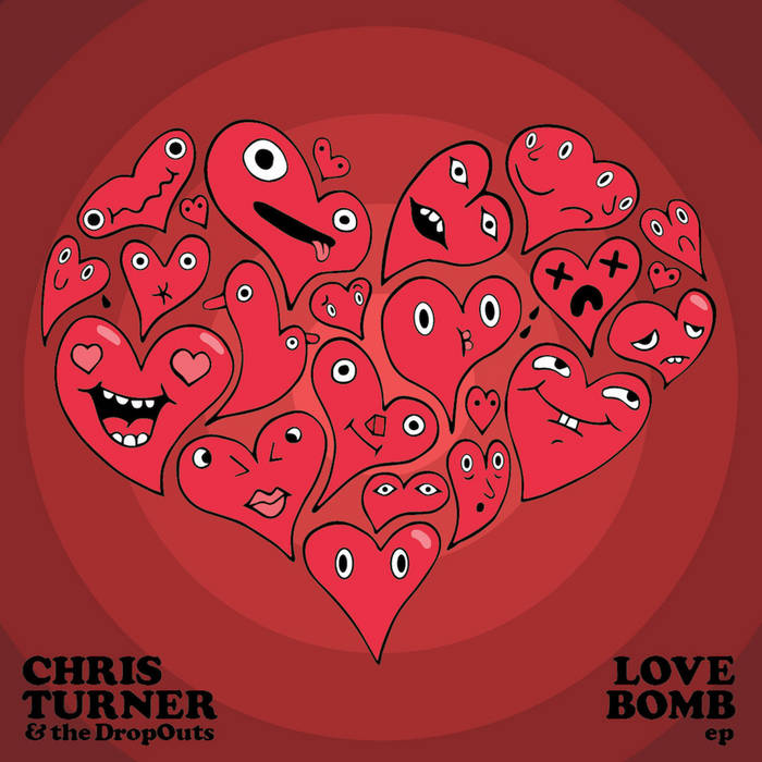 LOVE BOMB, the EP cover art