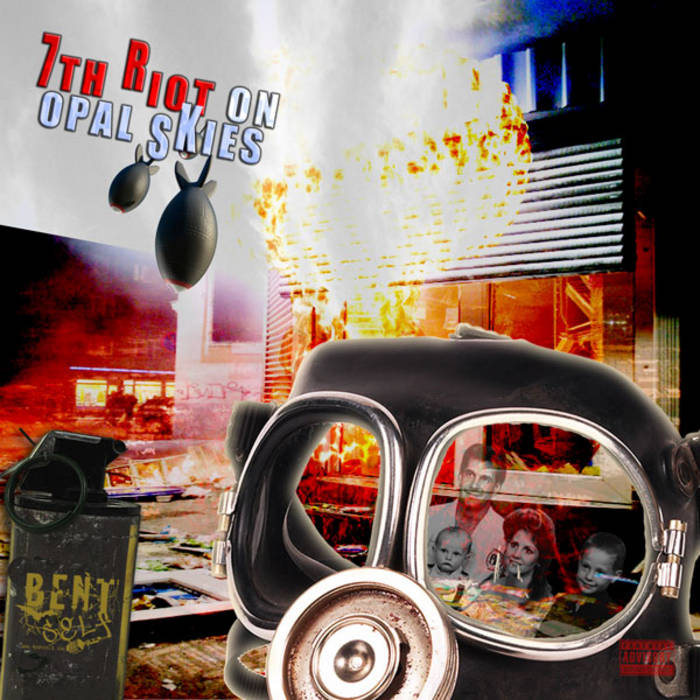 7th Riot On Opal Skies cover art