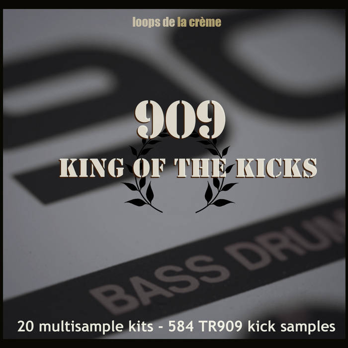 909 KING OF THE KICKS cover art