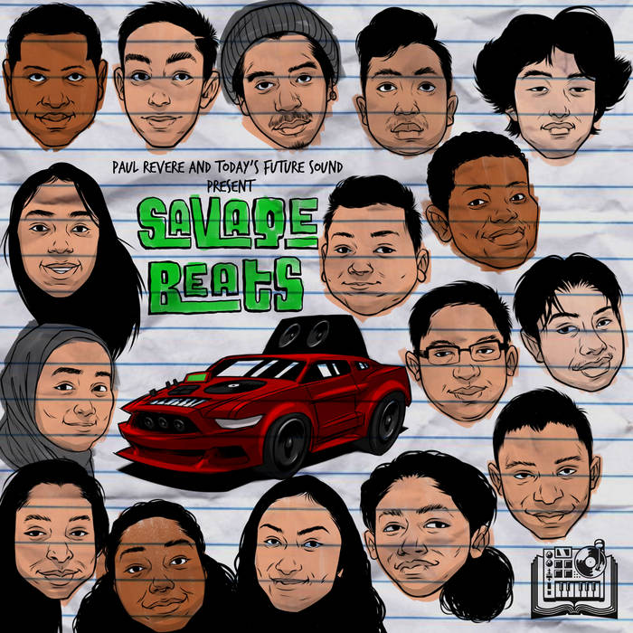 Today's Future Sound and Paul Revere Elementary Present: Savage Beats cover art