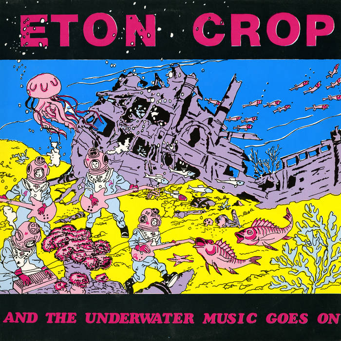And The Underwater Music Goes On cover art