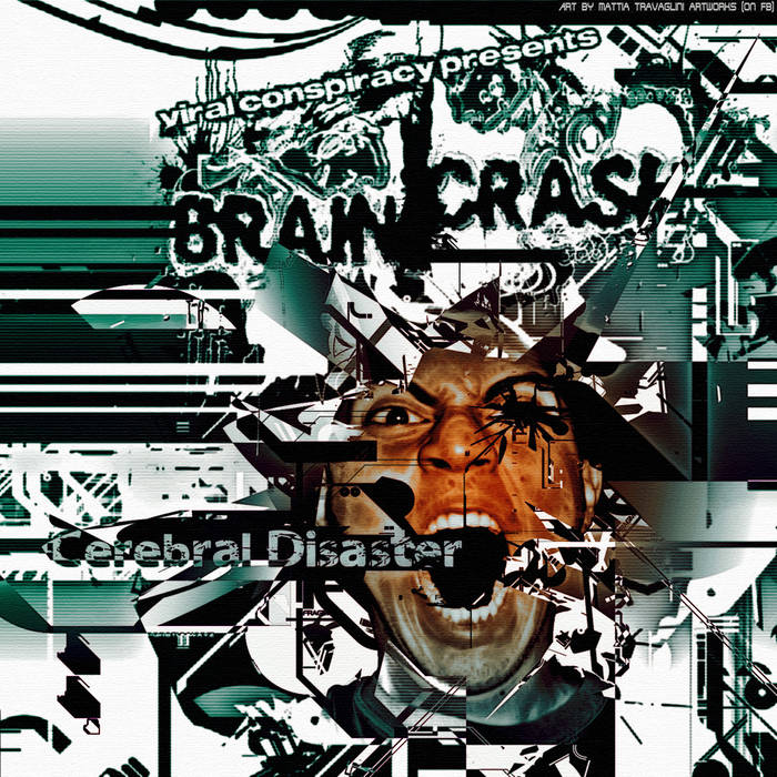 BrainCrash - Cerebral Disaster cover art