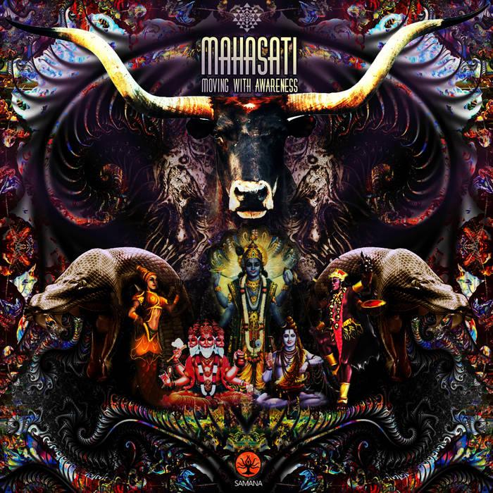 VA - MAHASATI (Moving With Awareness) cover art