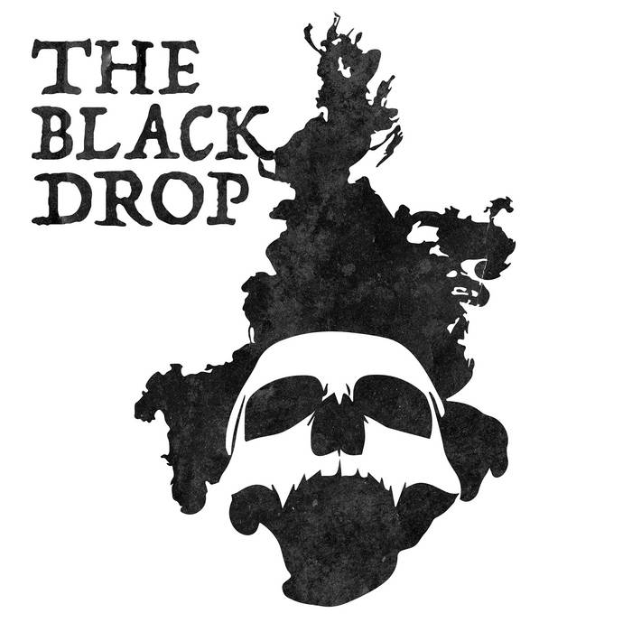 The BLACKDROP EP cover art