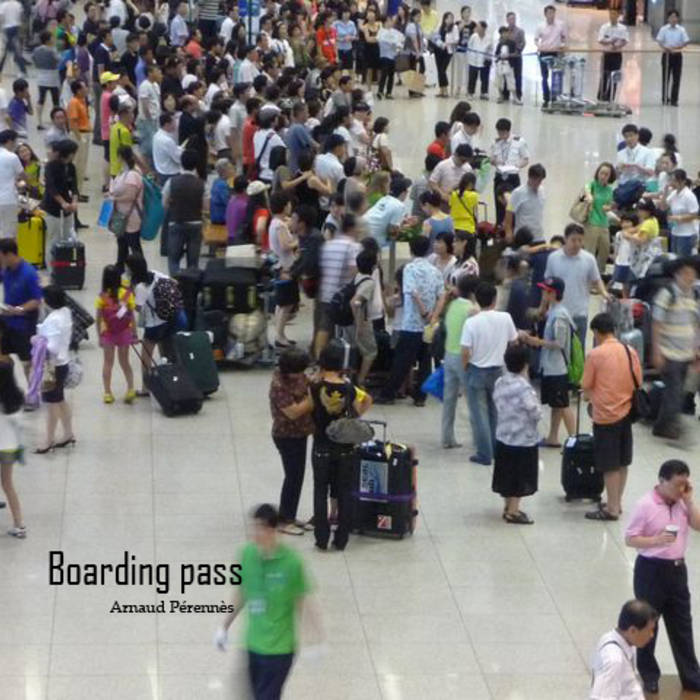 Boarding pass cover art