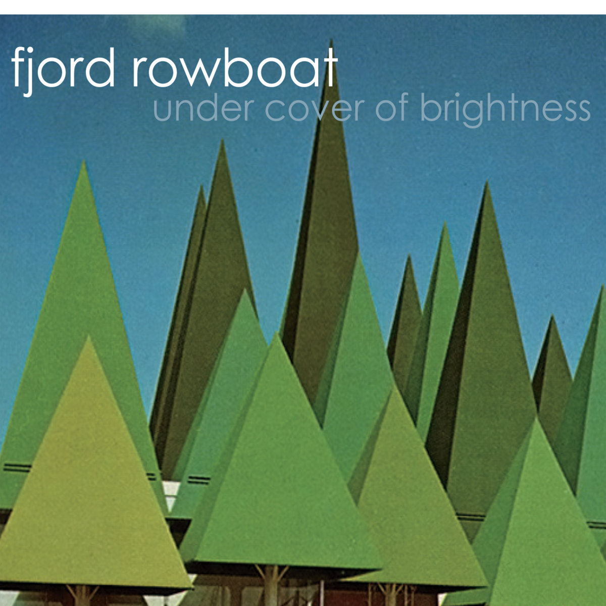 Fjord Rowboat Under Cover Of Brightness