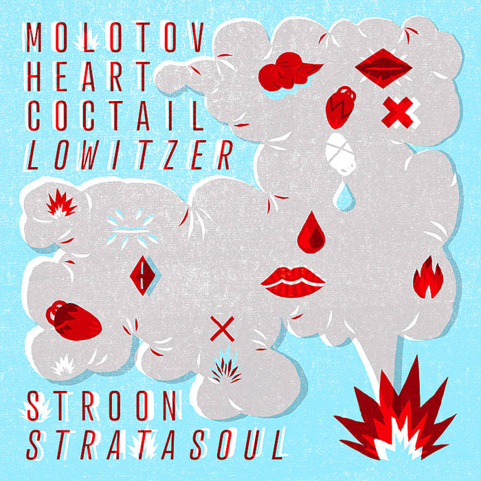 Molotov Heart Coctail/Lowitzer EP cover art