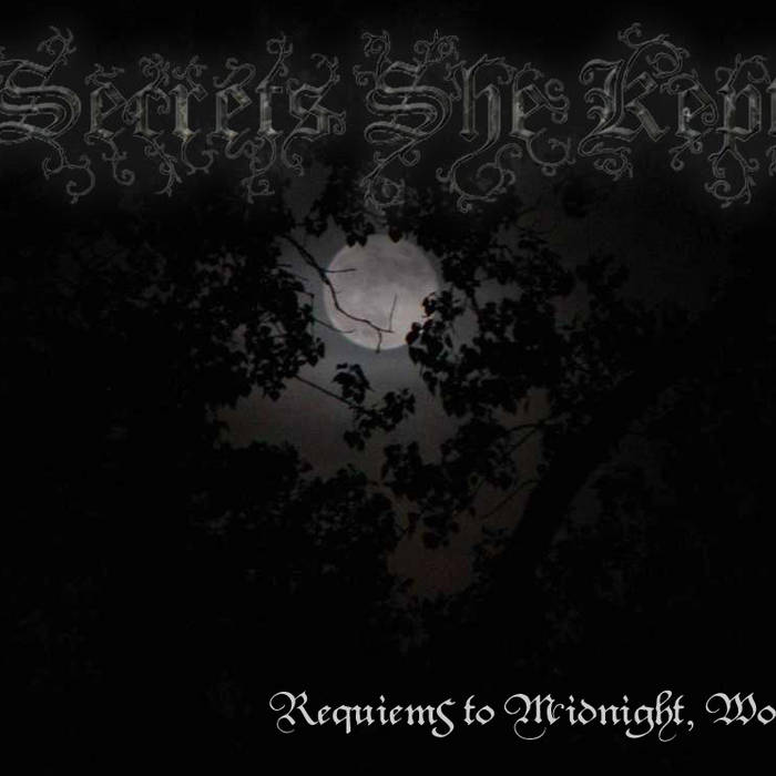 """Requiems to Midnight, Woe"" SPECIAL EDITION cover art"