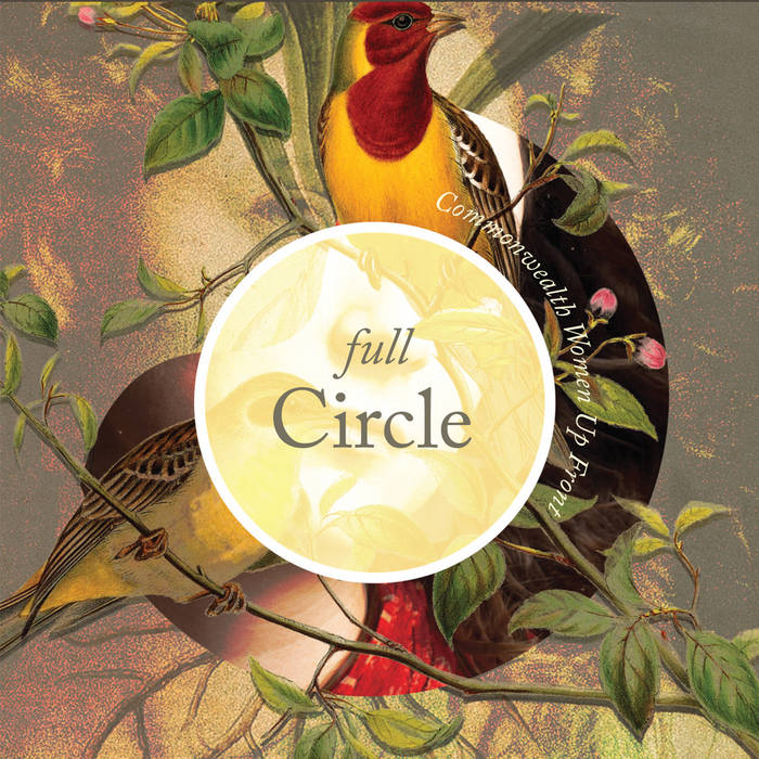 Full Circle - Commonwealth Women Up Front cover art