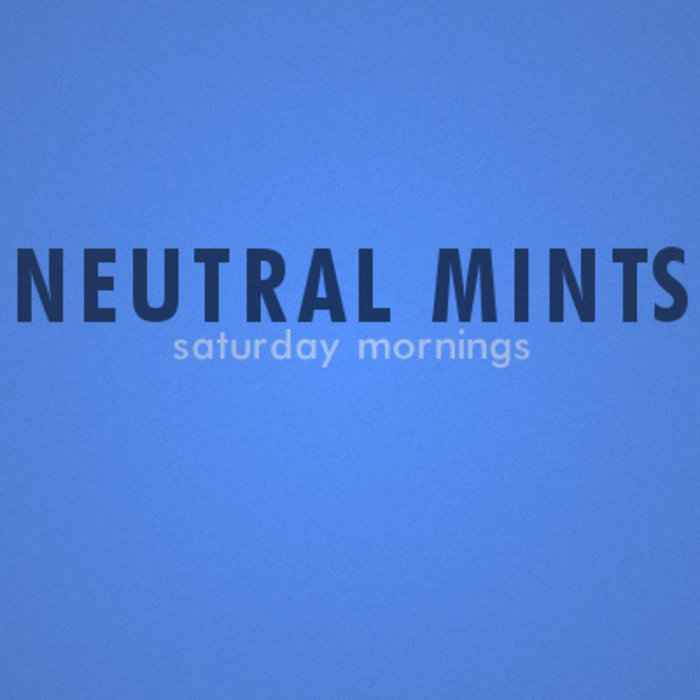 Saturday Mornings (Single) cover art