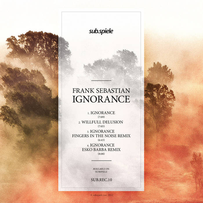 Ignorance cover art