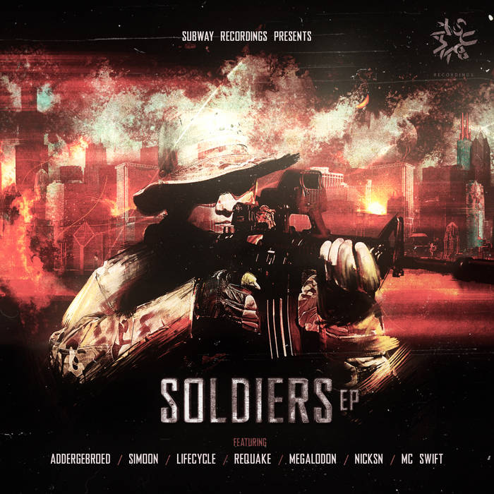 Soldiers EP cover art